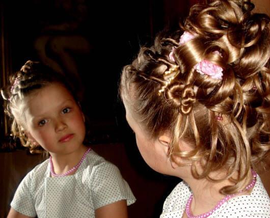Курсы для мам. Детские причёски в Харькове 1