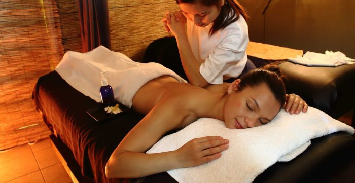 Реклакс массаж в спа салоне